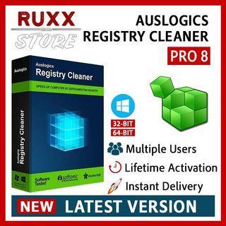 [FREE 3 SOFTWARE] Auslogics Registry Cleaner Pro 8.1 Full Version Lifetime