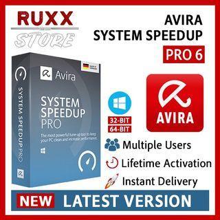 [FREE 3 SOFTWARE] Avira System Speedup Pro 6.1 Full Version Lifetime