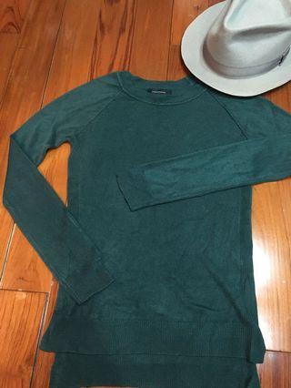 英國🇬🇧購祖母綠針織上衣