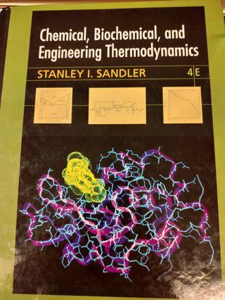 Chemical Biochemical and Engineering Thermodynamics 4/E Stanley I. Sandler 化工熱力學