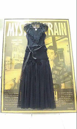*Aqua Manla* 挖背式超低領背心長紗裙