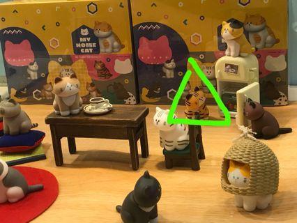 家貓系列軟膠公仔 第二彈 坐姿