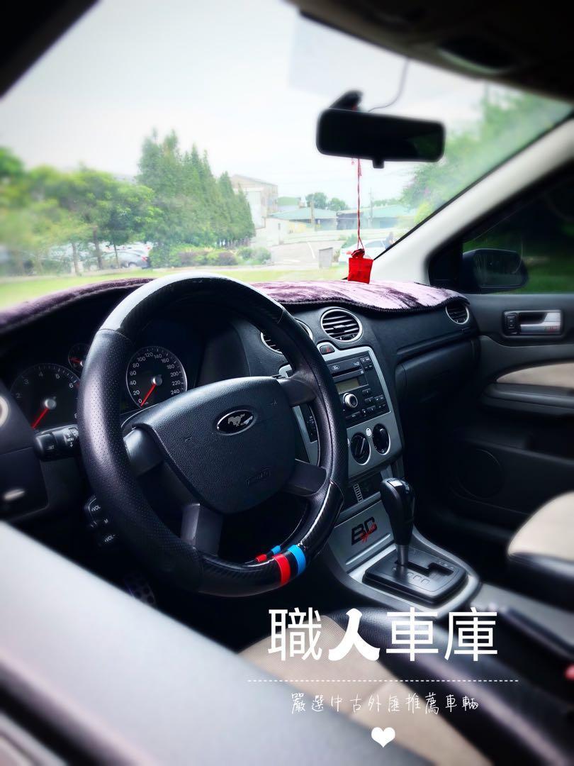07年福特Focus 2.0 升級ST外觀 全車精品 乾淨漂亮 無待修 可私分
