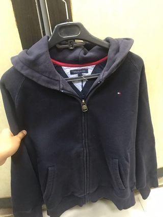 Jaket sweater tommy hieglifer