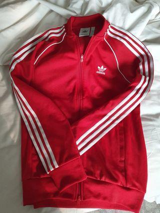 Adidas Original Red Jacket M Size