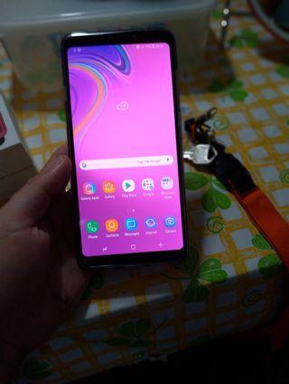 Samsung A9  ,128gb 2months used/  di lang ako sanay sa samsung