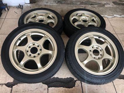 Sport Rim SSR Type C 14 pcd100/110