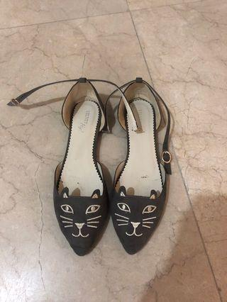 Cat flats Marc Jacobs inspired