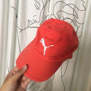 Puma桃紅老帽