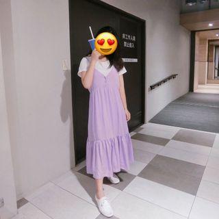 薰衣草紫洋裝