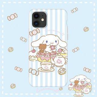 《預購》蘋果手機-日本三麗鷗卡通大耳狗喜拿cinnamoroll-iphone11上市囉