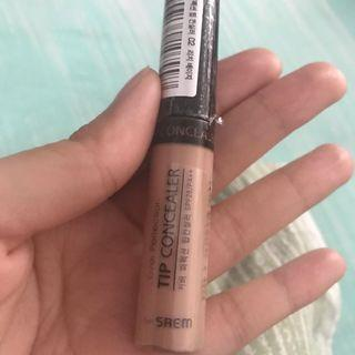 the saem tip concealer shade 2