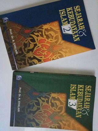 SEJARAH KEBUDAYAAN ISLAM 2 & 3