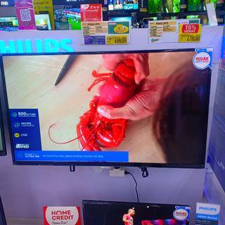 LED TV UHD Philips Smart TV Bisa Cicilan Syarat KTP+SIM