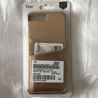 Typo Rose Gold iPhone 6/6S/7/8 plus Case #lelong80