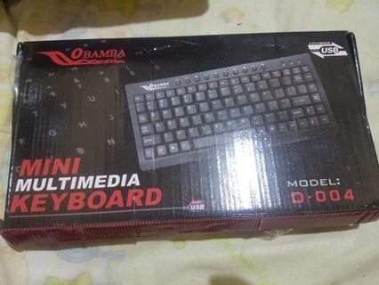 Keyboard mini obamba D-004