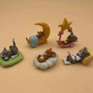 惠美玩品 歐美系列 其他 公仔 1910 貓和老鼠 湯姆貓 傑瑞鼠 Q版 五款一套