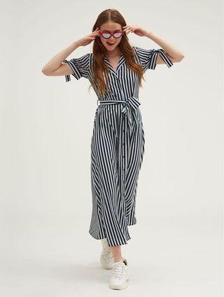 striped fress