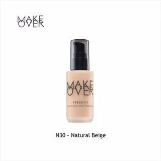 make over powerstay weightless foundation shade n30
