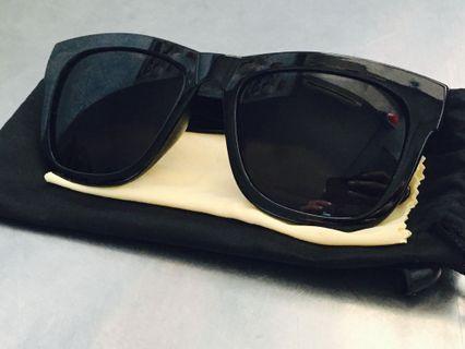 墨鏡 黑色 粗框 台灣製造