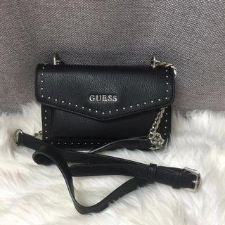 Authentic Guess Helena studded crossbody