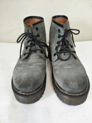 厚底馬丁靴