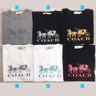 Authentic coach T-shirt