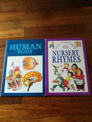 Know You Series : Human Body, Nursery Rhymes