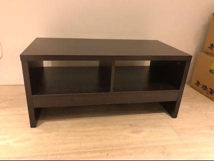 [二手] 簡約深棕色電視櫃 5成新轉賣