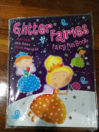 Glitter Fairies Fun Book
