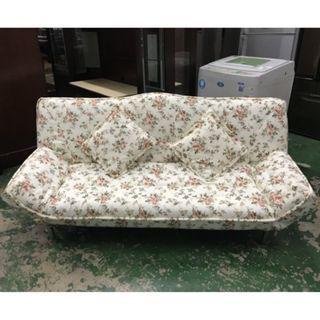 東鼎二手家具 庫存品 美式鄉村風沙發床*多功能沙發*沙發椅*布面沙發床*套房沙發*布沙發*房間椅*三人沙發*沙發床