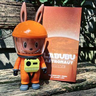 Labubu Astronaut 宇航員太空人橘色