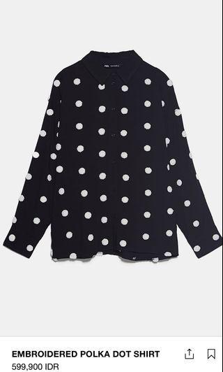Zara Polka Shirt