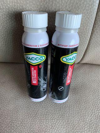兩罐500$ YACCO 電油噴注系統清潔添加劑, 200ml