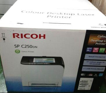 RICOH Color Printer Sp-C250dn use few times only