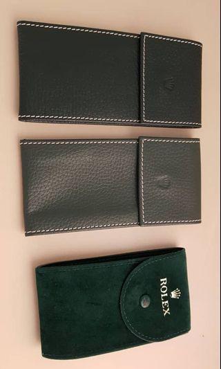 Rolex watch pouch