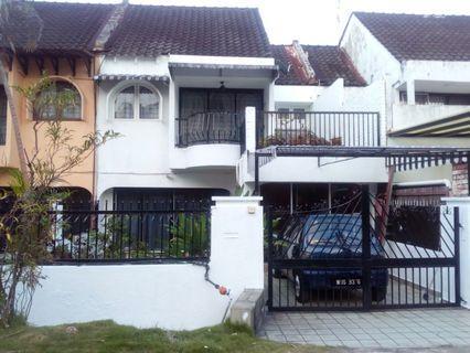 Double Storey House Taman Pinggiran Ukay Ampang