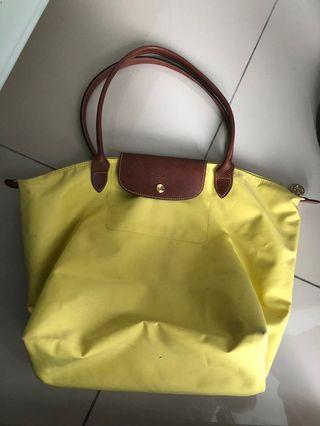 Authentic Longchamp Bag Large