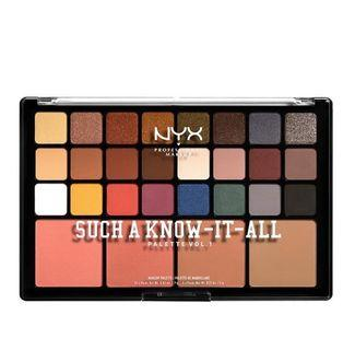 NYX Such A Know-It All Palette