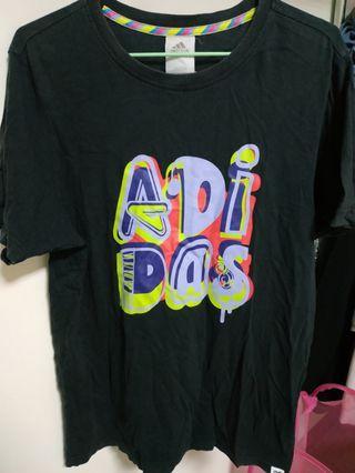 Adidas oversize 嘻哈 復古 潮流 帥氣 90s hip hop 舒服 好穿