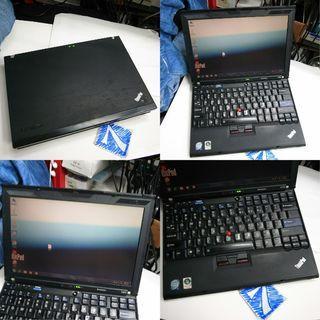 Lenovo IBM Thinkpad x200 P8600 3GB 250GB 12.5 Inch Notebook Rm550