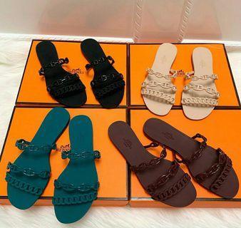 Hermes Sandal Jelly FREE BOX & DUSTBAG