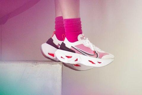 +🥀+ Nike ZoomX Vista Grind 復古透明紗網 老爹鞋