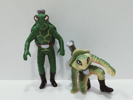 Kamen Rider Showa V3 Sofubi Kame Bazooka Turtle