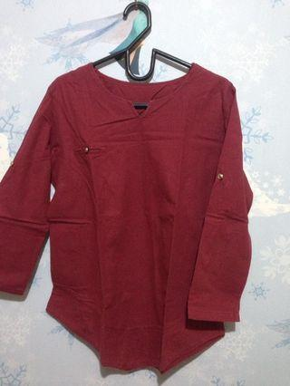 #1010flazz maroon top
