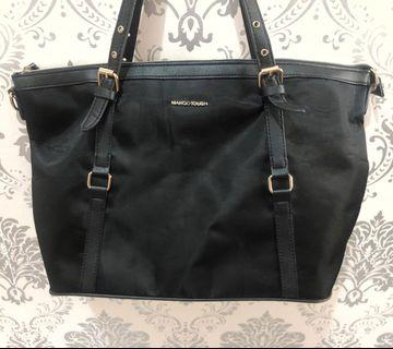 MANGO TOTE BAG (BLACK) #joinoktober