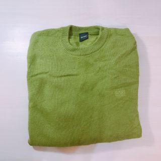 Hugo boss 草綠色羊毛衣