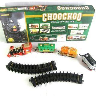 Mainan Anak Kereta Api Asap - Choochoo Super Train Track Set B19020B