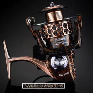 特價7000型全金屬18軸魚線輪