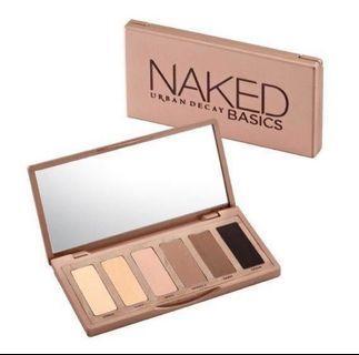 URBAN DECAY Naked Basics 6色迷你 眼影盤 (可議)